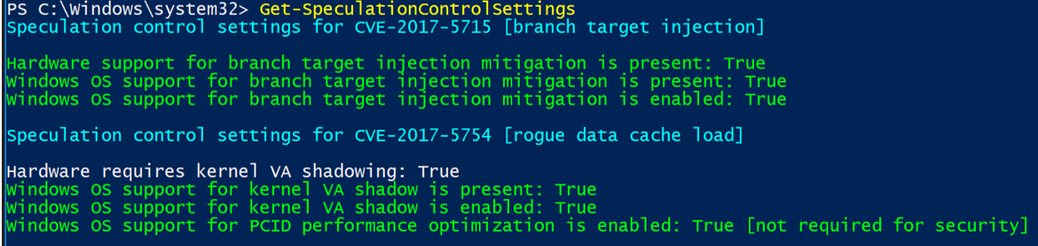 PART 1 – Deploy the Spectre-Meltdown Fix via SCCM