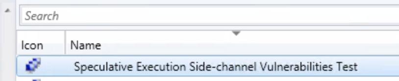 Addressing the Spectre-Meltdown vulnerability using Configuration