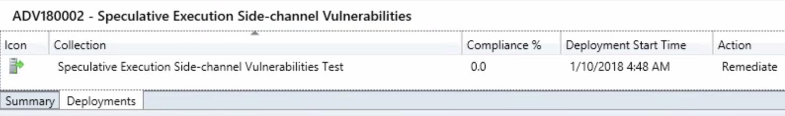 Addressing the Spectre-Meltdown vulnerability using
