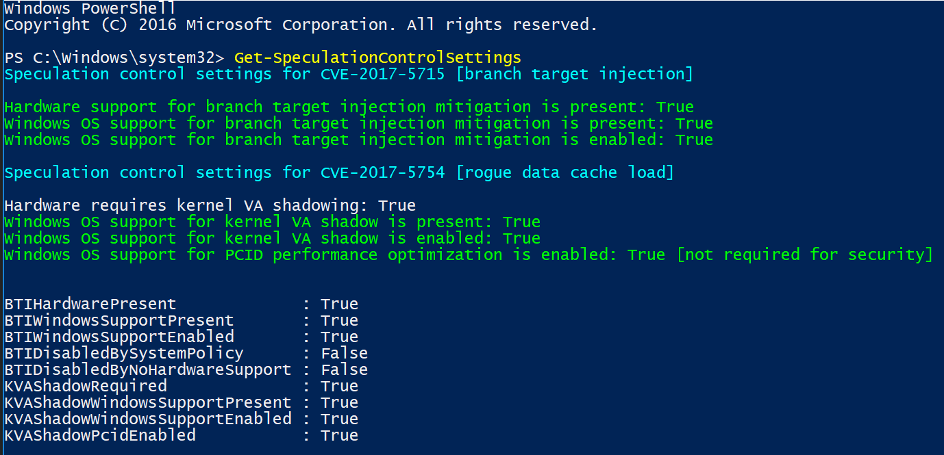 PART 2 – Firmware Deployment for Spectre-Meltdown Protection