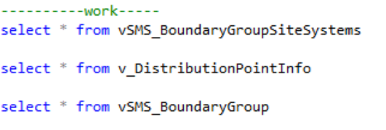 SCCM Custom Report Request – PXE Enabled Distribution Points and Boundary Group Membership