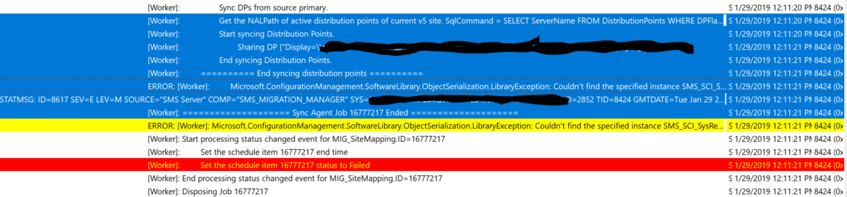 SCCM Side-By-Side Migration: A Real Life Issue – Resolved.