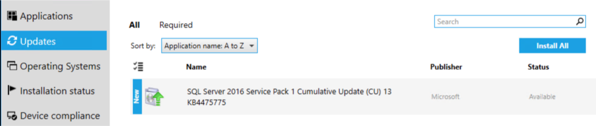 Deploy SQL CU w/ rollback package